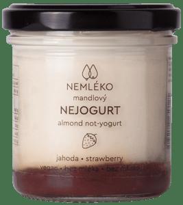 Nemléko Nejogurt - jahoda