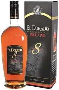 El Dorado Rum 8 YO, dárkové balení 40% Alc.