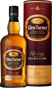 Glen Turner Single Malt Scotch Whisky, dárkové balení 40% Alc.
