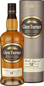 Glen Turner Single Malt Scotch Whisky 12 YO, dárkové balení 40% Alc.