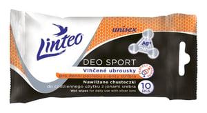 Linteo Deo Sport vlhčené ubrousky pro denní potřebu