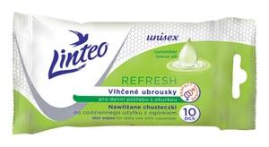 Linteo Refresh vlhčené ubrousky pro denní potřebu