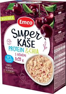 Emco Super kaše Protein a chia s višněmi
