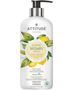 Attitude BIO Super leaves přírodní mýdlo na ruce s detoxikačním účinkem - citrusové listy
