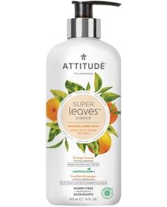 Attitude BIO Super leaves přírodní mýdlo na ruce s detoxikačním účinkem - pomerančové listy
