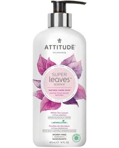 Attitude BIO Super leaves přírodní mýdlo na ruce s detoxikačním účinkem - čajové listy