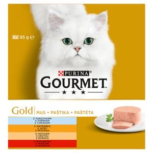 Gourmet Gold Multipack jemné paštiky 8x85g