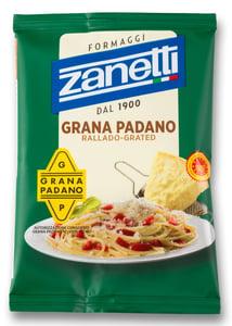 Zanetti Grana Padano PDO strouhané