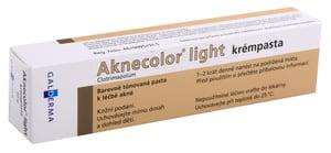 AKNECOLOR LIGHT KRÉMPASTA 10MG/G DRM PST 1X30G