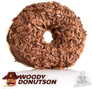 Donuter Donut Woody Donutson