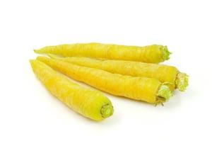 Mrkev žlutá 1ks, volná