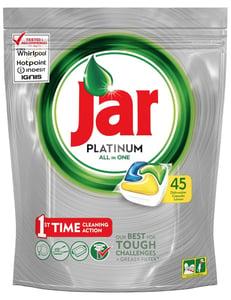 Jar Platinum Kapsle Do Automatické Myčky Nádobí Lemon
