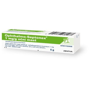 OPHTHALMO-SEPTONEX 1MG/G OPH UNG 5G