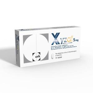 XYZAL 5MG potahované tablety 14