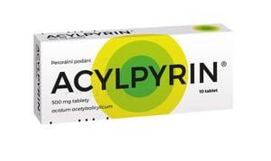 ACYLPYRIN 500MG neobalené tablety 10