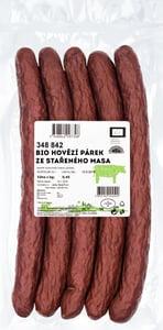 MeatPoint BIO Hovězí párek ze stařeného masa