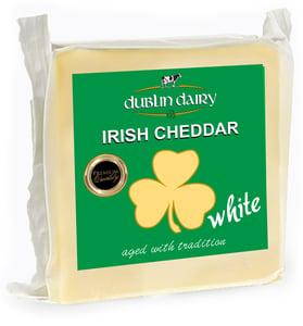 Dublin Dairy Irish cheddar white bloček