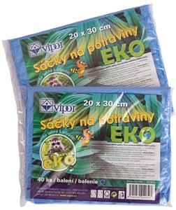 Vipor EKO rozložitelné sáčky na potraviny 20x30cm, 40ks