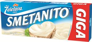 Smetanito smetanové GIGA tavený sýr