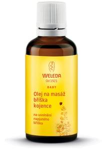 Weleda Olej na masáž bříška kojence