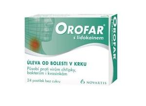 OROFAR 1MG/1MG pastilka 24
