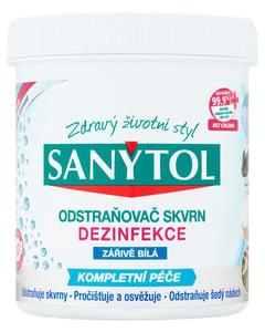 Sanytol Dezinfekce odstraňovač skvrn - zářivě bílá