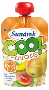 Sunárek Cool ovoce Hruška, Banán, Mango