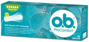 o.b. ProComfort Super+ Tampony 16 ks