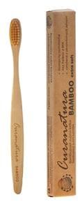 Curanatura Bamboo ultra soft bambusový zubní kartáček