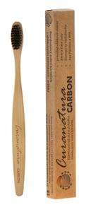 Curanatura Carbon soft bambusový zubní kartáček