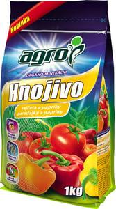 AGRO Organominerální hnojivo rajčata a papriky
