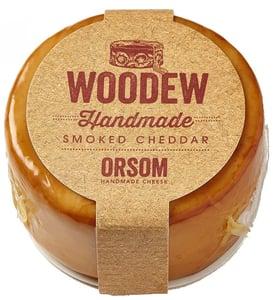Orsom Cheddar Woodew uzený bochníček