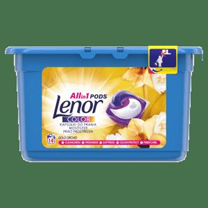 Lenor Silk Orchid tablety na praní 14ks