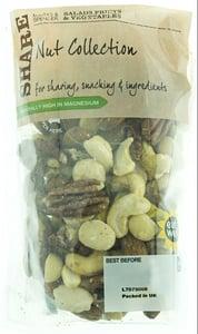 Marks & Spencer Směs jader mandlí, kešu ořechů, pekanových , makadamových a pistáciových ořechů