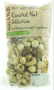 Marks & Spencer Směs kešu, lískové ořechy loupané, mandle a pistácie