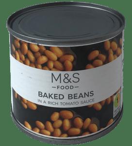 Marks & Spencer Pečené fazole v rajčatové omáčce