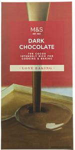 Marks & Spencer Hořká čokoláda na vaření