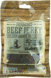 Marks & Spencer Jerky hovězí maso sušené s černým pepřem