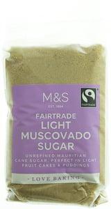 Marks & Spencer Nerafinovaný světlý třtinový cukr Muscovado