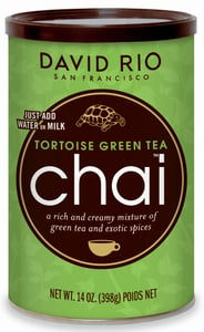 David Rio Chai Tortoise Green Tea