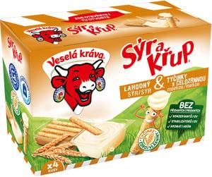 Veselá kráva Sýr a křup celozrnné 4ks