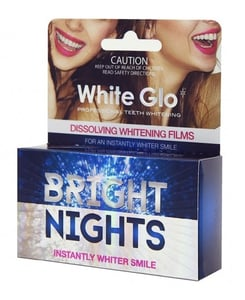 White Glo Bright Nights - bělící film (pásky 6ks)