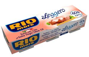 Rio Mare tuňák Leggero 3x60g,