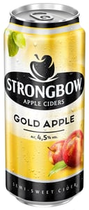 Strongbow Gold Apple cider plech