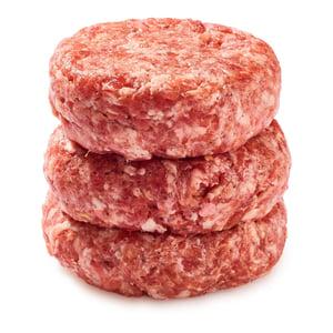 Gurmet Vepřový burger 4ks