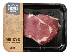 Gurmet Rib eye steak vysoký roštěnec