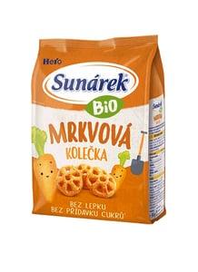 Sunárek BIO Křupky mrkvová kolečka