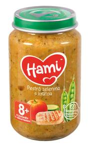 Hami příkrm Pestrá zelenina s krůtou