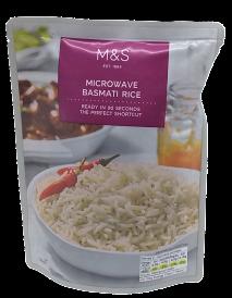 Marks & Spencer Basmati rýže vařená