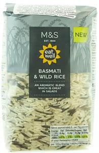 Marks & Spencer Basmati a indiánská rýže
